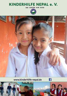 Unser neues #Plakat. #Kinderhilfe #Nepal #Bildung Nepal, Career Training, Young Adults, Poster