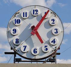Giant Outdoor Clock!