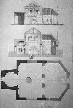 63) BAPTISTERE ST-JEAN à POITIERS: .. a évidemment été vu par Joly-Leterme, qui l'a noyé dans son sol mais ne l'a pas signalé, n'en ayant pas compris le sens. Du côté E., le sol sous-jacent au support de l'autel était formé d'une légère couche de remblais (0,20m environ) sur de la terre végétale contenant des tessons de poterie gallo-romaine sigilée ou rustique. A 0,85m de la surface, un sol de béton gallo-romain brisé s'enfonce sous la base de l'absidiole vers l'est.