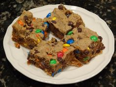 Monster Cookie Bars – Dallas Duo Bakes