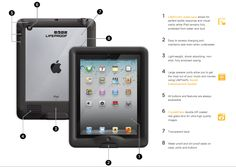 LifeProof iPad Case-withstands water, dirt, or physical abuse! From OT's with Apps. Pinned by SOS Inc. Resources @sostherapy.