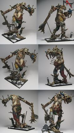 Vampire Counts Zombie Giant by Miniatures Art Team