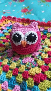 LolaIsHooked: Pattern owls lovey cloth