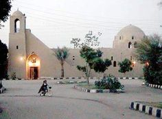 View of El Gourna mosque- Hassan Fathy