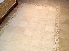 tile rug floor
