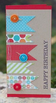birthday card | Little Birdie Secrets: cre8time project {with Michaels}