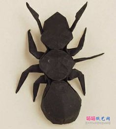 RobertJLang的蚂蚁折纸图解教程成品图3