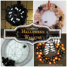 DIY wreaths for Halloween