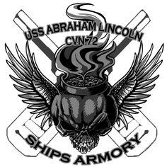 Aviation Ordnance Gunners Mate USS Abraham Lincoln Shirt $19.95