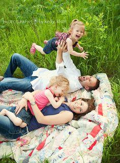Family - love this happy shot