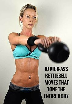 Sculpt your body fast with this kettlebell workout.
