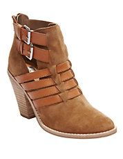 DV BY DOLCE VITA Caitlynn Synethic & Leather Ankle Boots #shoes #boots #leather #suede