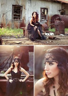 gorgeous bohemian senior photos♥