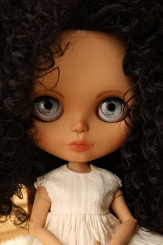 Im stoked about this one. Blythe doll Custom no39 'Delia' came out so pretty.