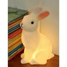 Lampe veilleuse Rabbit night - Bird on the wire - Neeed ♥ - Shop is all you Neeed ! Pip Studio, Bunny Lamp, Deco Originale, Luminaire Design, Nightlights, Led Lampe, Led Night Light, Light Led, Baby Online