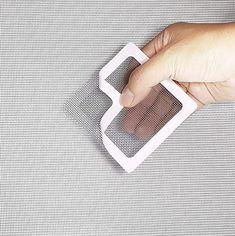 Screen Repair Patch – Nalai & Co Screen Material, Leather Repair, Home Repairs, Mesh Fabric, Adhesive, How To Look Better, Restoration, Home Improvement, Diy