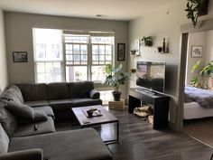 I think I have done an okay job setting up my place downtown. Not sure where to go from here, though : malelivingspace Living Room Setup, Living Room Sofa Design, Modern Bedroom Design, Living Room Designs, Apartment Design, Apartment Living, Guy Apartment, Minimal House Design, Luxury Homes Dream Houses
