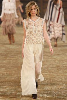 Chanel Pre-Fall 2014 Fashion Show - Georgia May Jagger