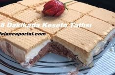 Cassette Dessert in 8 Minutes - Katze Kakao, C'est Bon, Vanilla Cake, Cookie Recipes, Tart, Cheesecake, Deserts, Brunch, Food And Drink