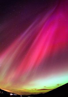 Northern Aurora lights over UK