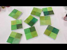 Monochrome Painting, Jane Davies, Gelli Plate Printing, Mark Making, Online Art, Make It Yourself, Abstract, Green, Artist