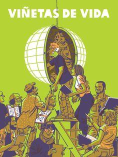 Grandes del cómic español defienden la cooperación al desarrollo: Viñetas de Vida recoge en viñetas intensas experiencias vividas en siete países de Latinoamérica.