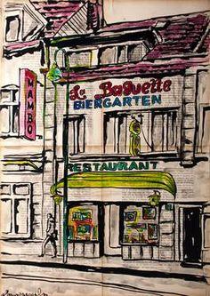 "Saatchi Art Artist Krzyzanowski Art; Drawing, ""La Baguette"" #art"