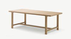 Alki - Emea table in solid oak by Jean Louis Iratzoki