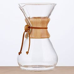 I'm on a mission to find the best way to brew coffee...and I need this one next. :)    Chemex Coffeemaker