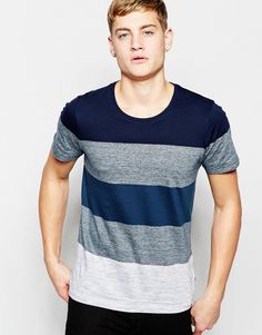 Image 1 - Jack & Jones - T-shirt à rayures