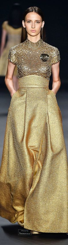 White and Gold Wedding. Gold Bridesmaid Dress. Elegant and Glamorous. Acquastudio Fall-winter 2015-2016.