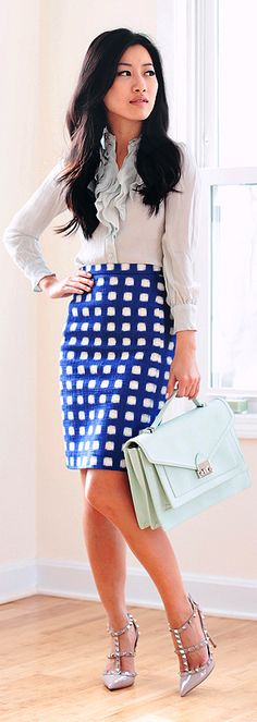 Proof that going to the office doesn't have to mean boring clothes!