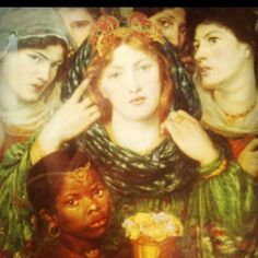 The beloved- Dante Gabriel rosetti