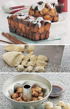 Abeskøn kage: Monkey bread