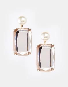 ASOS Mega Jewel Swing Earrings