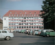 DDR - Messehaus in Leipzig 1959
