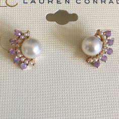 LC Lauren Contad Earrings Very Elegant set of Earrings LC Lauren Conrad Jewelry Earrings