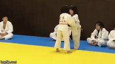 "juji-gatame: "" Badass little japanese judoka doing a beautiful Tomoe-nage! "" @shelikesherredthong"