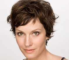Tousled Pixie Cut - my hair has a natural 'kink' so this is an option