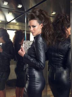 "designerleather: ""Marine Lorphelin - Miss France 2013 - Jitrois """