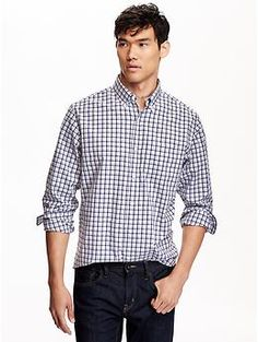 Classic Regular-Fit Shirt | Old Navy