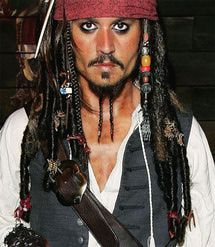 Jack Sparrow Costume How-To - Gareth Cattermole / Getty Images