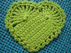 Coração de croche !!! - Faniquito