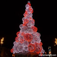 Commercial christmas decorations wholesale ichristmaslight outdoor christmas trees led ball tree mozeypictures Images