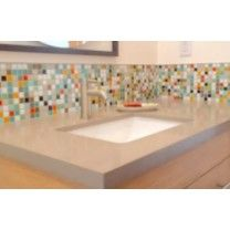 Brio Blend Glass Mosaic Tile in Highlands