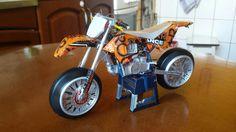 Motocross tincan handmade ( by faisal rizal )
