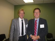 #Lawyer Evan Guthrie with Jay Masty of DeLuca and Maucher at Evan Guthrie Law Firm at the South Carolina Bar Middle School Mock Trial Competition Lowcountry Regional at North Charleston City Hall in North Charleston, SC on Saturday November 15, 2014