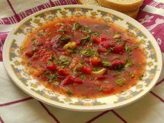Tocanita de post cu ardei copti - Culinar.ro Romanian Food, Romanian Recipes, European Cuisine, Vegetarian Recipes, Recipies, Vegan, Dinner, Ethnic Recipes, Beverage