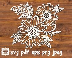 How to Plant Potted Flowers Outdoors in the Soil : Garden Space – Top Soop Paper Lace, Paper Flowers, Paper Cutting, Sunflower Stencil, Sunflower Art, Stencil Material, Flower Svg, Decorate Notebook, Craft Box