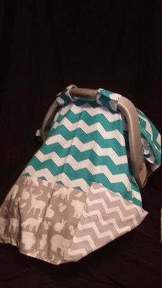Carseat Canopy... Infant Carseat Cover.... by mydoodlebugshoppe